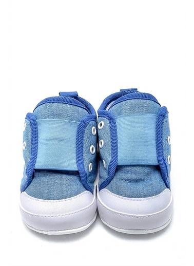 First Step Bebek Geniş Lastikli Patik G-2154 Mavi